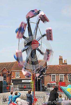 Fairground thrills Editorial Photo