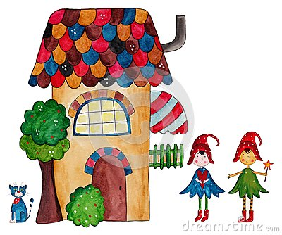 The fairies house