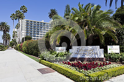 Fairmont Miramar Hotel Editorial Image