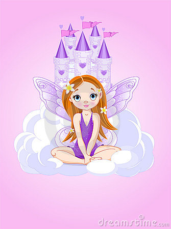 Fairy замока милое немногая
