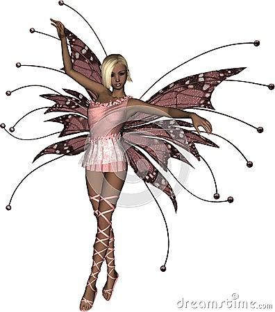 Fairy розовый tiptoe
