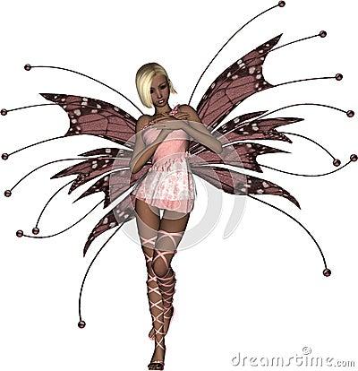 стыдливый fairy пинк