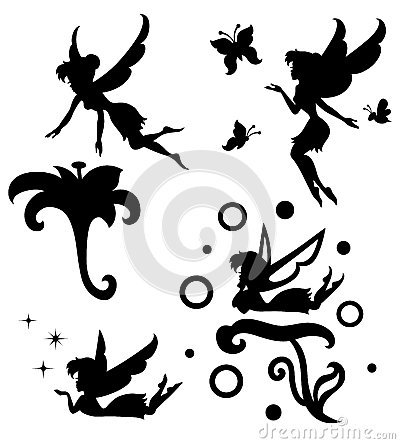 Free Fairy. Royalty Free Stock Image - 42396176
