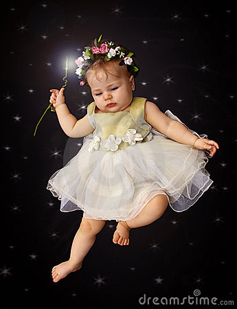 Free Fairy Baby Stock Photo - 205710