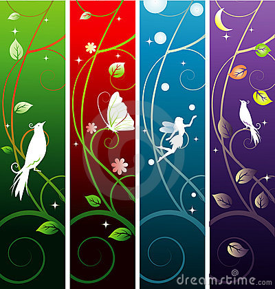 Free Fairy Banners Stock Images - 8141674