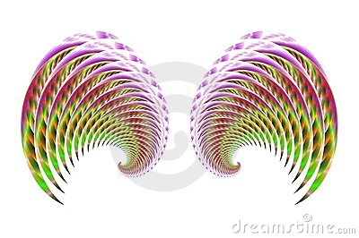 Fairy Bird or Angel Wings 4