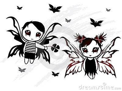 Fairy boy and girl design