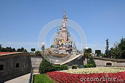 The fairy Castle -Disneyland Paris Editorial Stock Photo