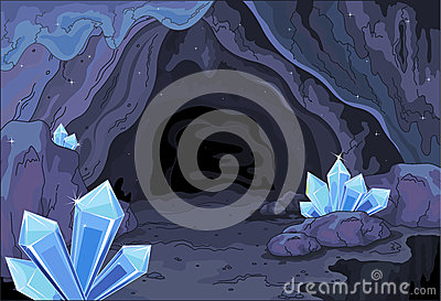 Fairy cave Vector Illustration