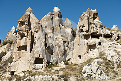 Fairy Chimney Houses, Travel to Cappadocia, Turkey