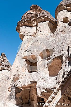 Free Fairy Chimneys Of Cappadocia, Turkey Royalty Free Stock Image - 18757266