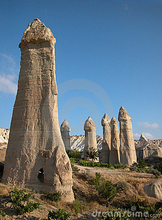 Free Fairy Chimneys Of Cappadocia, Turkey Stock Photos - 745793