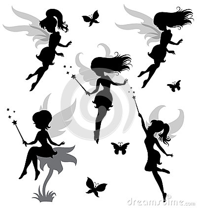 Fairy. Vector Illustration