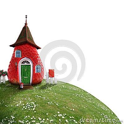 Free Fairy-cottage Stock Image - 5110071
