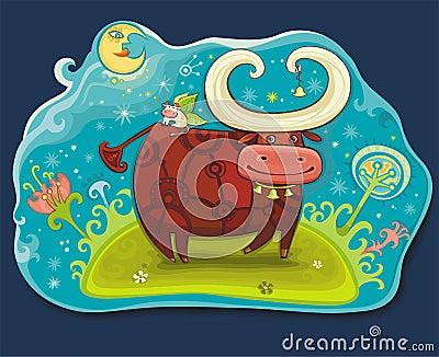 Fairy cows at Magic field