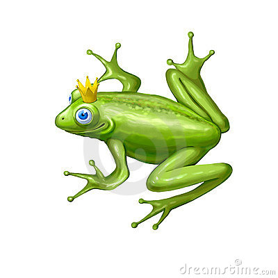 Fairy Frog Stock Photo - Image: 21468750