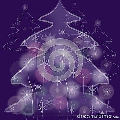 Fairy fur-tree