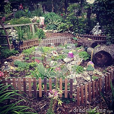 Free Fairy Garden Stock Photo - 45805810