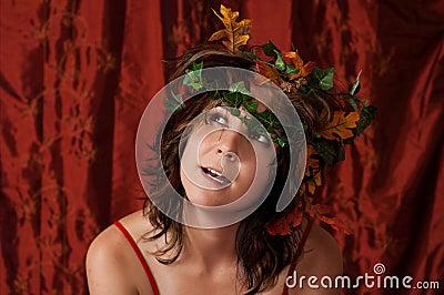 Fairy girl with ivy hair