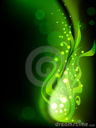 Fairy green plant