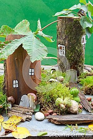 Free Fairy House Royalty Free Stock Image - 44258696