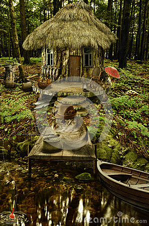 Free Fairy House (fisherman S House) Stock Photos - 52085973