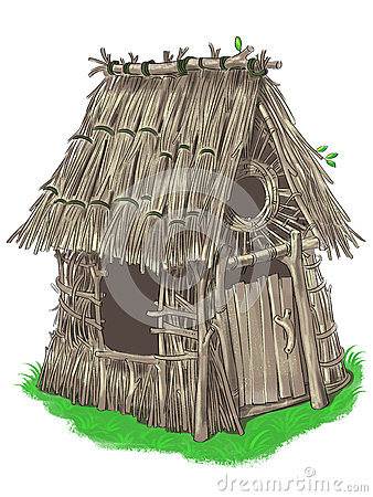 Free Fairy House From Three Little Pigs Fairy Tale Stock Image - 40162251