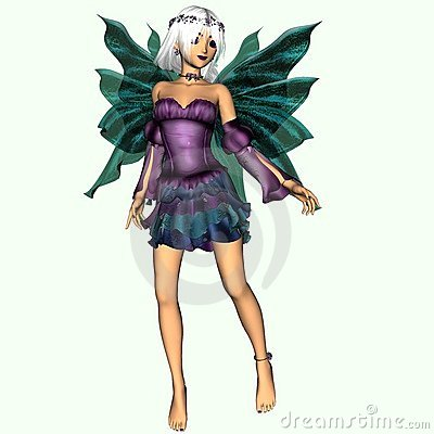Fairy named Crystal