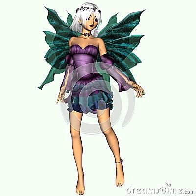 Fairy named Crystal