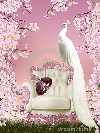 Free Fairy Peacock Royalty Free Stock Photography - 23621297