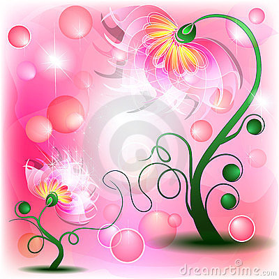 Fairy Pink flowers