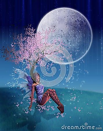 Fairy resting