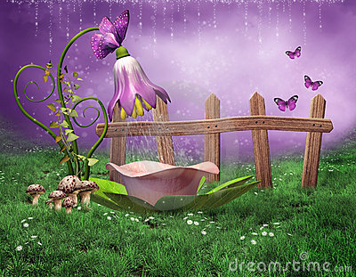 Fairy Shower Stock Photography Image 20546842