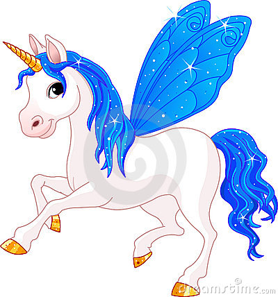 Fairy Tail Indigo Horse