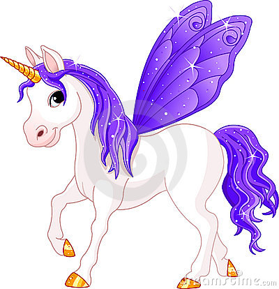 Free Fairy Tail Violet Horse Stock Images - 13804864