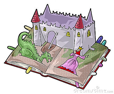 A fairy-tale book