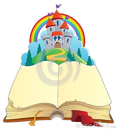 Fairy tale book theme image 1