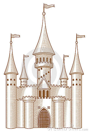 Fairy Tale Castle Royalty Free Stock Photo Image 15364555