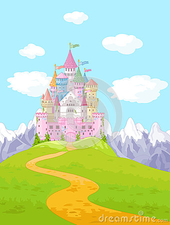 Free Fairy Tale Castle Landscape Stock Photo - 42001230