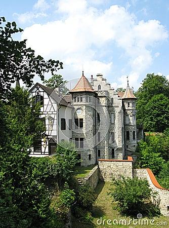 A fairy tale castle in Lichtenstein