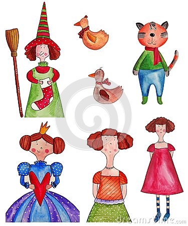 Fairy-tale Characters Stock Photos - Image: 28041263