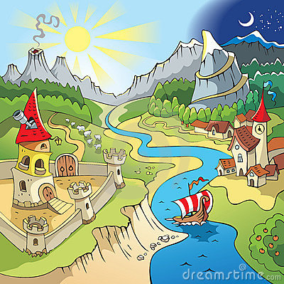 Free Fairy-tale Landscape Royalty Free Stock Photo - 8375875