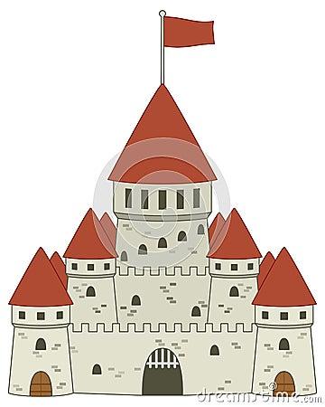 Fairy Tale Medieval Castle