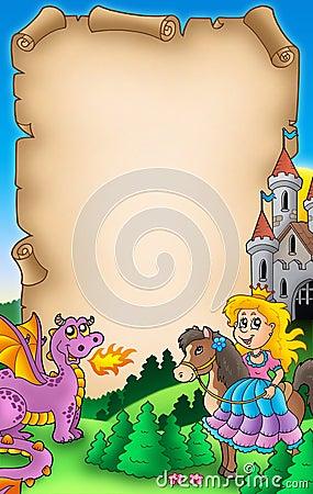 Fairy tale parchment 2