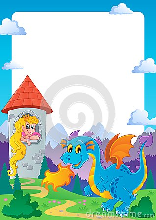 Fairy tale theme frame 2