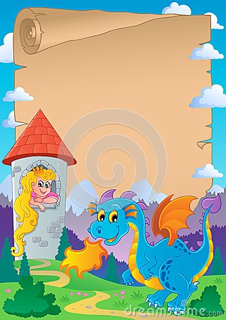 Fairy tale theme parchment 2