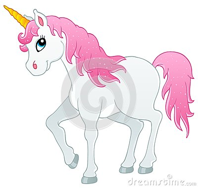 Fairy tale unicorn theme image 1