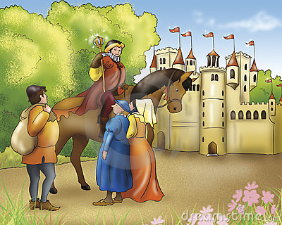 Fairy tales-Prince and castle