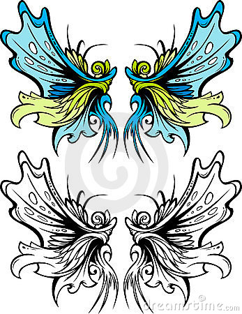 Fairy Wings Graphic Set