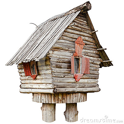 Free Fairy Witch House On Chicken Legs Royalty Free Stock Photo - 35945055